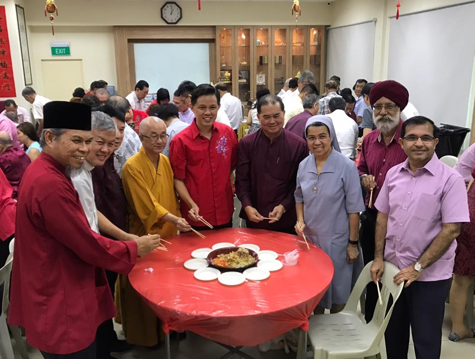 Taoist Federation celebrates CNY with Interfaith Leaders!