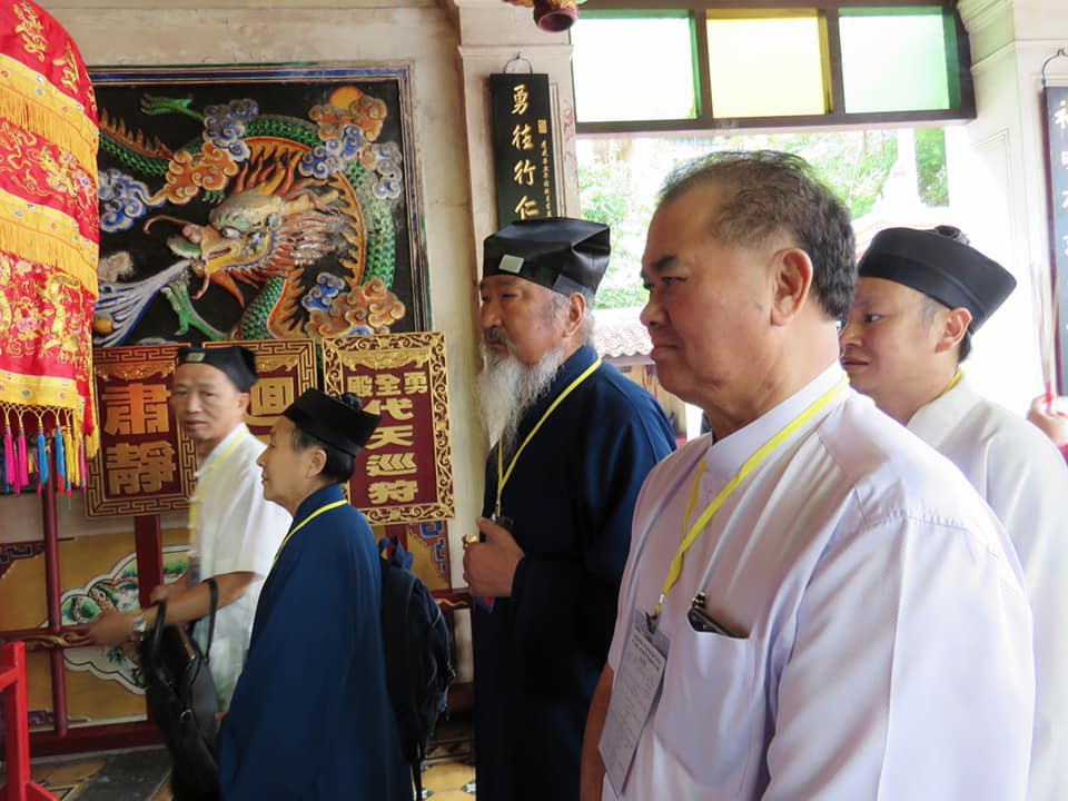 45th Anniversary of the Establishment of Diplomatic Relations Between China and Malaysia. China Taoist Culture Exhibition