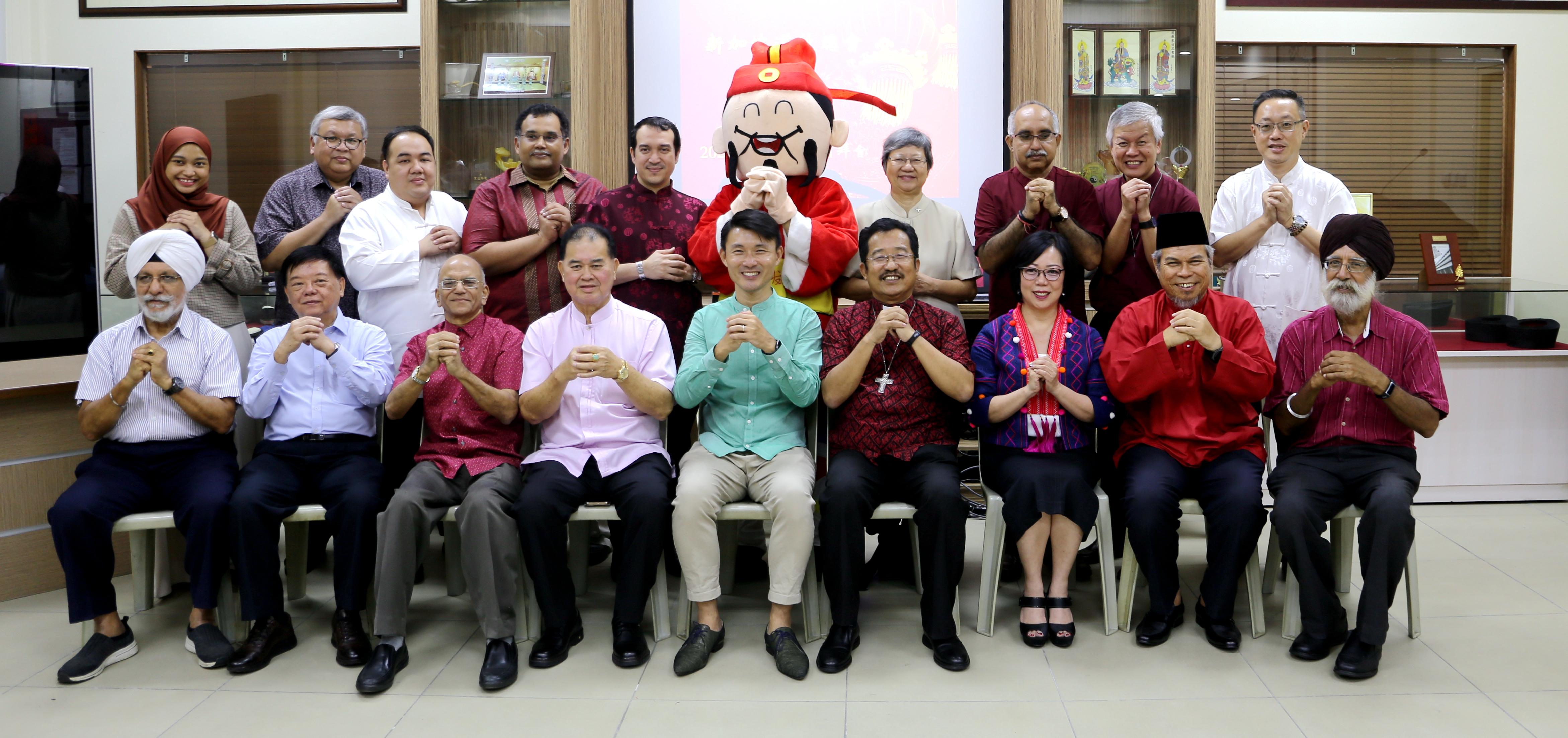 Taoist Federation celebrates CNY with Interfaith Leaders!