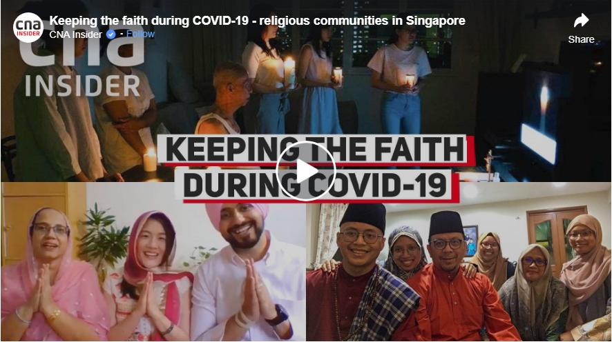 不同宗教  共同抗疫